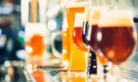 Boutique pour la vente de bière artisanale àLaTour‑du‑Pin